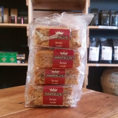 Mantelli's Bran Rusks (20 Per Pack)