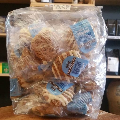 Mantelli's Lunch Box Hero Yoghurt Oat Cookies (25 x 14g)