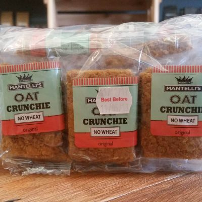 Mantelli's Oat Crunchies Original (15 x 21g)