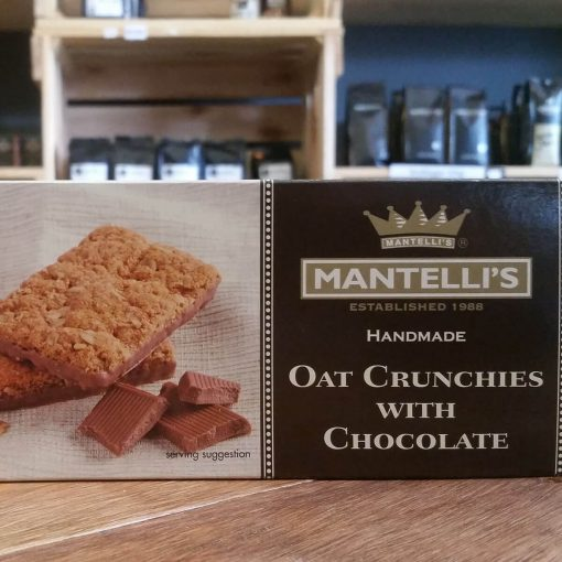 Mantelli's Oat Crunchies With Chocolate (200g)