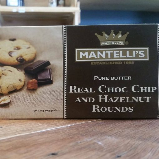 Mantelli's Real Choc Chip and Hazelnut Rounds (150g)