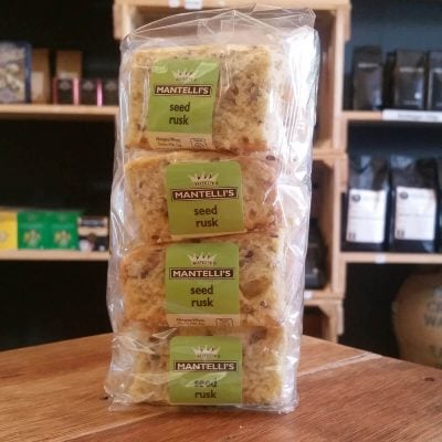 Mantelli's Seed Rusks (20 Per Pack)