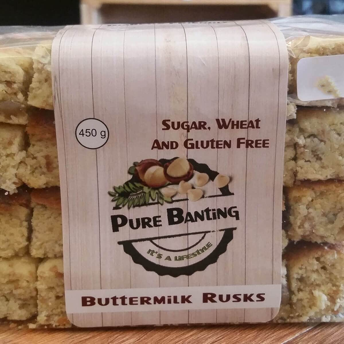 Pure Banting Butter Rusks (450g)