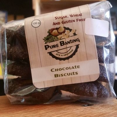 Pure Banting Chocolate Biscuits (100g)
