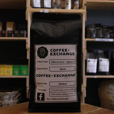 Coffee Exchange Espresso – Coffee & Crunch - Signature (250g)