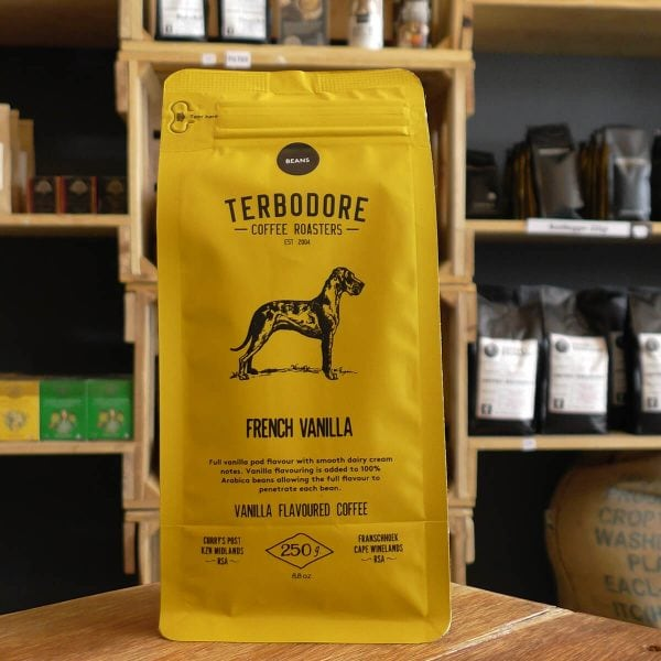 Terbodore French Vanilla Flavoured Coffee (Plunger 250g)