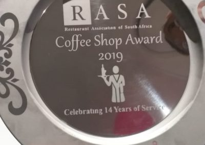 Coffee & Crunch 2019 Award 1